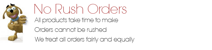 no rush orders